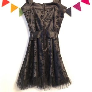 Hell Bunny Dresses - {Hell Bunny} Vintage Style Tulle Black Dress